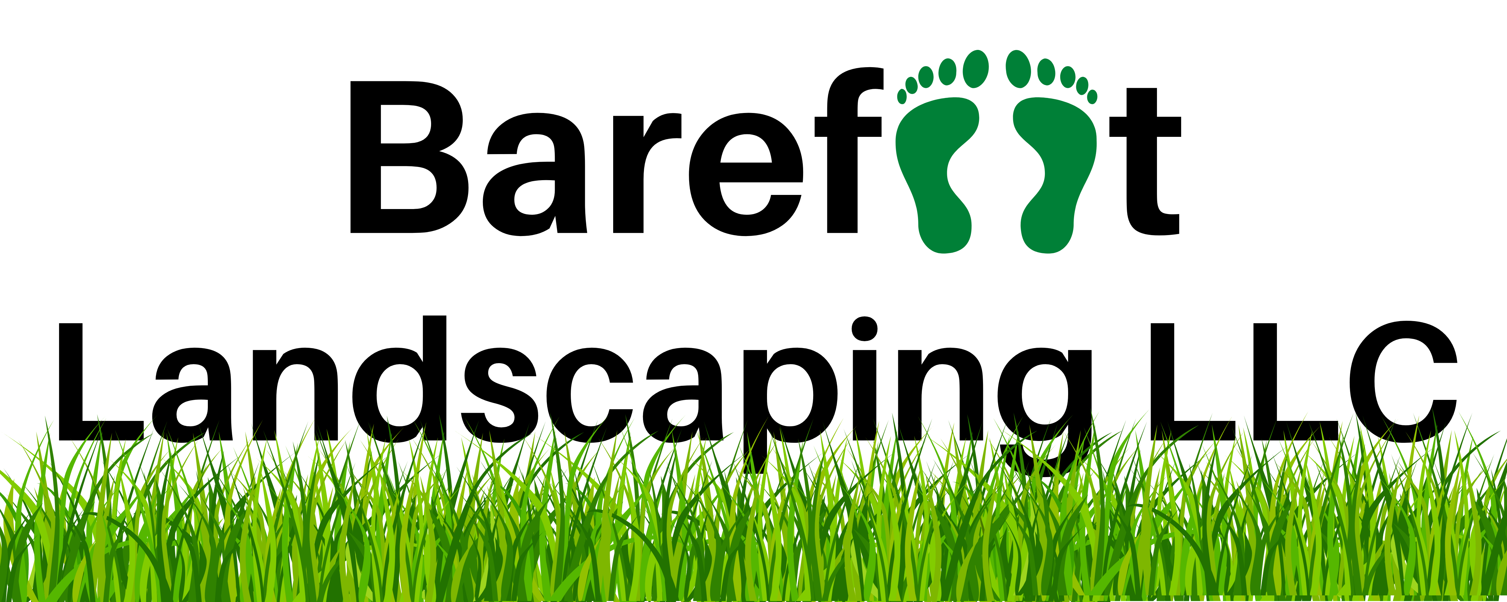 Barefoot Landscaping Logo